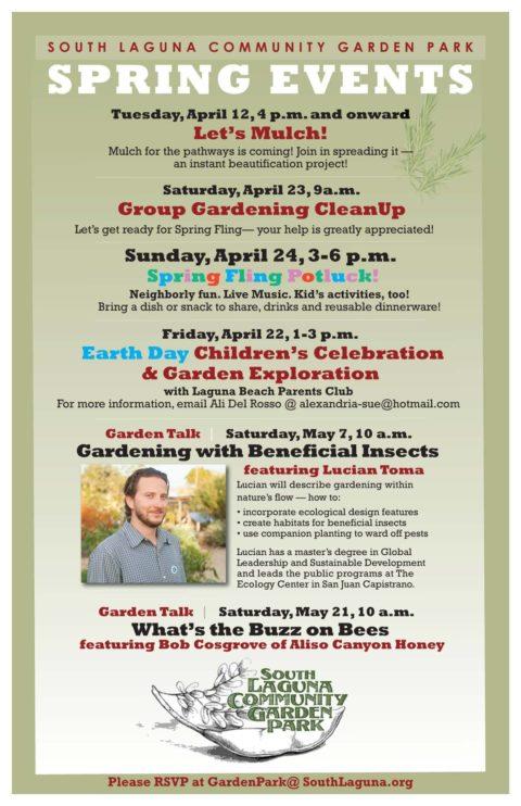 Upcoming Garden Events!