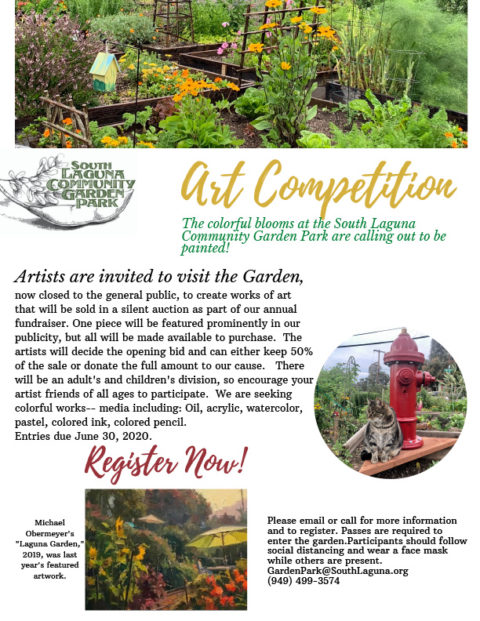 Art competition at the Garden Park